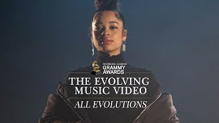 The GRAMMYs | The Evolving Music Video, starring Ella Mai - all evolutions