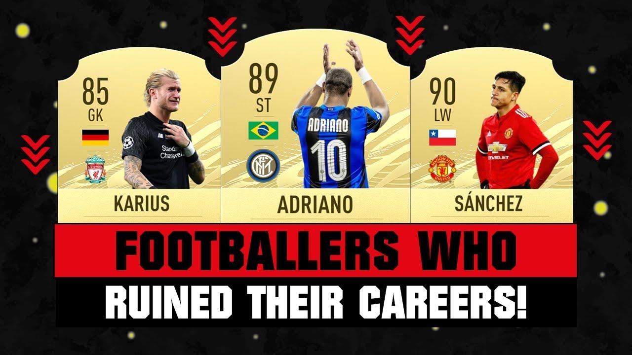 Footballers Who RUINED Their CAREERS! 😭💔 ft. Adriano, Karius, Sanchez... etc