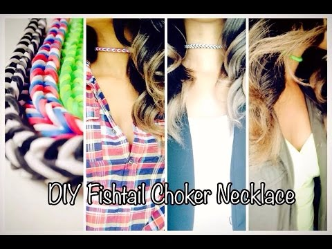 #2.💜HOW TO: DIY FISHTAIL CHOCKER NECKLACE