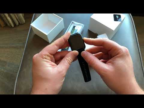 Xiaomi Amazit Bip Smartwatch Unboxing and First impressions