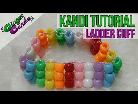 How to Make a Ladder Cuff - [Kandi Tutorial]   @GingerCandE
