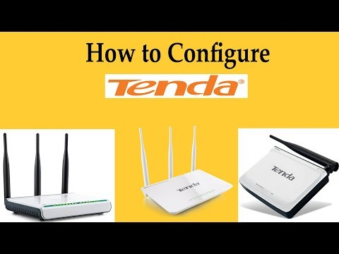 How to configure Tenda(PPPoE) by Sayem Haque