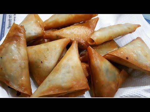 Minced Chicken  Samosa/Chicken Kheema Samosa/ Ramzan Special