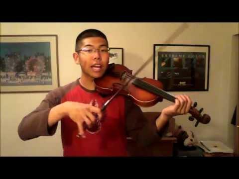 Lindsey Stirling Violin Tutorial 8 - Stars Align - Those Hard 16th Notes!!!