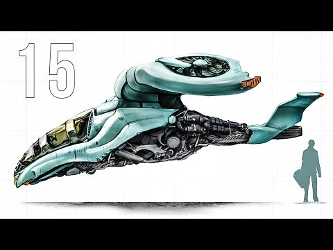 CGC Classic: Modeling a Sci-fi Gyrocopter Pt. 15 (Blender 2.6)