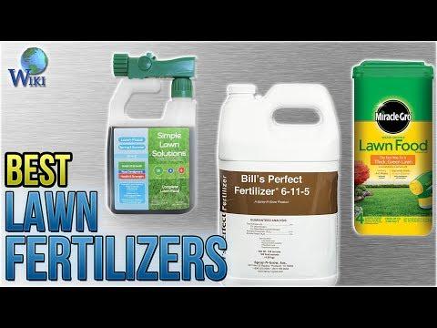 10 Best Lawn Fertilizers 2018