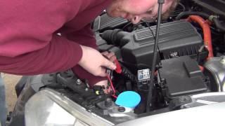 2005 Honda Civic Hid And Fog Light Install Part 1