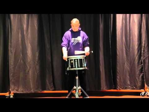 Spencer Littlejohn - Brathwaite Boom - Solo Snare - CDA Solos 2016