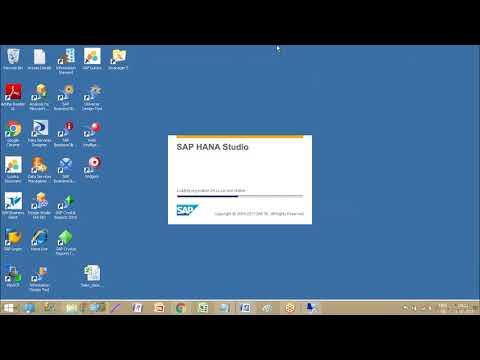 SAP BW4HANA  Training | BW4HANA for Beginners -Transient Provider (SAP BW 7.5 On HANA)