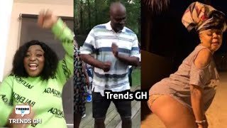 Maame Ng3g3 finally 'Dances' to Kennedy Agyapong & Afia Schwar's New Song but still f!res