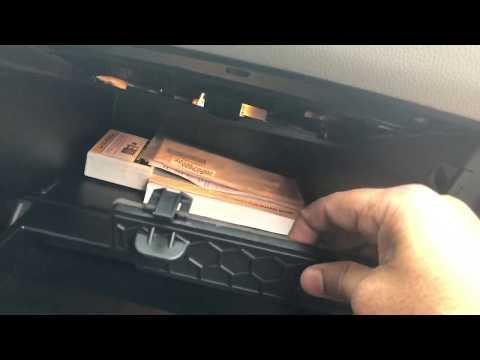Cabin air filter 2016 Kia Soul how to remove diy