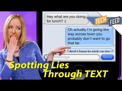 How to Spot if Someone is Lying... Through Text!
