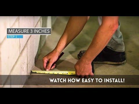 Wahoo Walls - DIY Basement Finishing Solution Installation Video