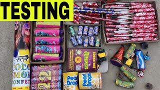 15 Different types Of Crackers Testing | New Crackers Testing 2019 | Best Crackers 2019 | Kartik
