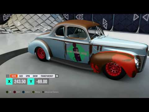 Forza Horizon 3 Rust and Weathering on a 30s Ford Timelapse
