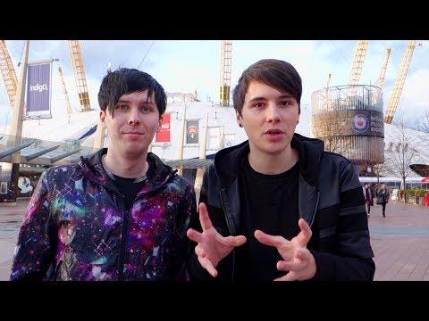 Backstage Tour | Dan & Phil at the BRITs