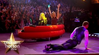 Michael Fassbender Does the Worm! | The Graham Norton Show