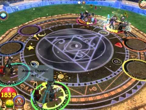 wizard101 - 2v1 free arena