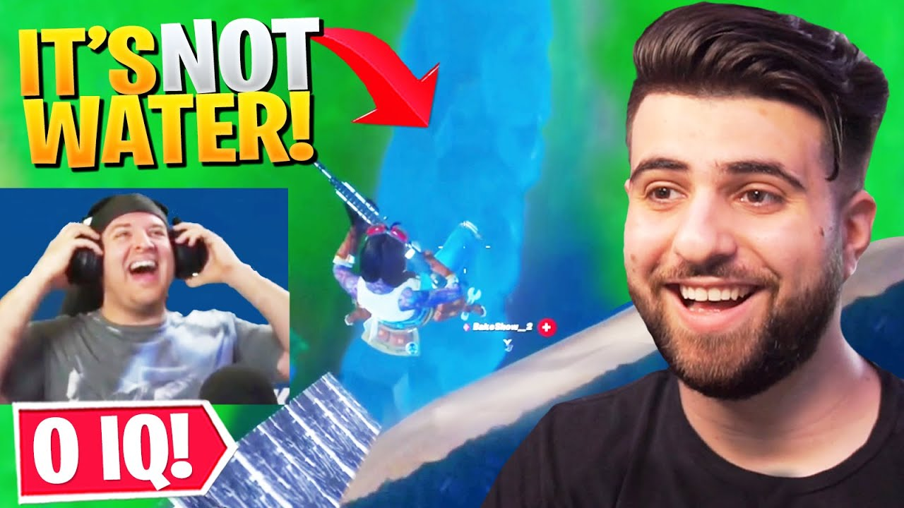Reacting to 0 IQ Fortnite Plays...