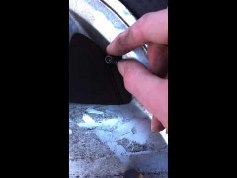 Broken Tyre Valve