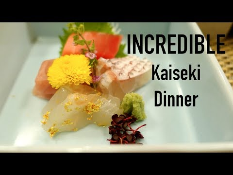 Incredible Konansou Ryokan Kaiseki Dinner Meal 🍖in Japan