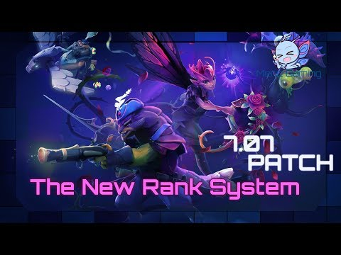 Dota 2 - Explaining The New Rank System [ 7.07 Patch ]