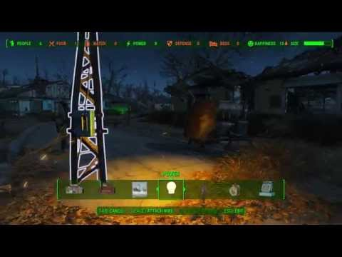 Fallout 4 How to build Recruitment Radio Beacon 1 Minute Guide