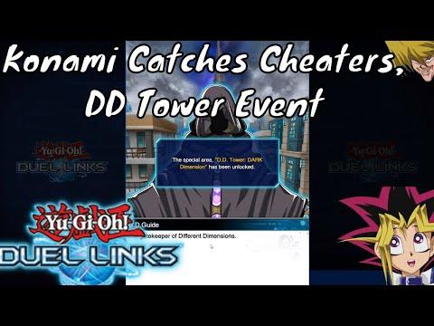 Yugioh Duel Links Season 2 Ep. 12 - Konami Catches Cheaters, DD Tower