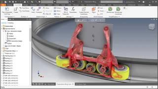 Autodesk Inventor - Nawijanie kształtu na powierzchnię - PakVim net
