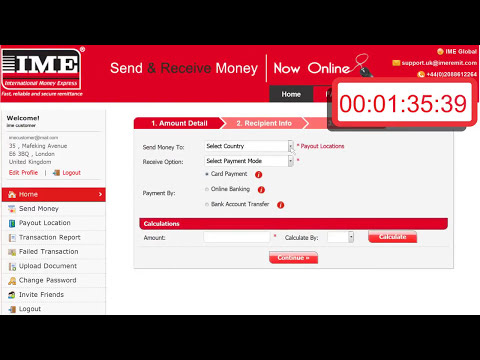 How to send online remittance to Nepal with in 5 min?