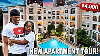 EMPTY APARTMENT TOUR AT AGE 19 | 2ND APARTMENT!!