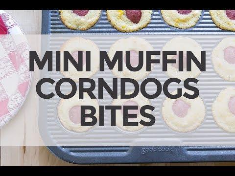 Mini Corndog Muffin Bites