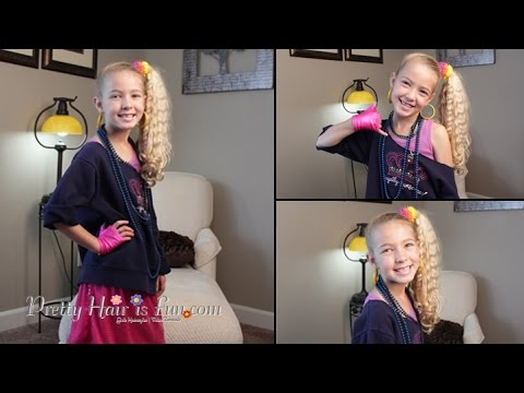 How To: 80's Style Halloween Hairstyle and Costume| Pretty Hair is Fun