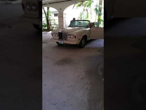 ROLLS ROYCE CORNICHE CONVERTIBLE 1985 1 OWNER CAR MOST COMPLETE MR SUNSHINE EDDY SHIPEK 561-693-8636
