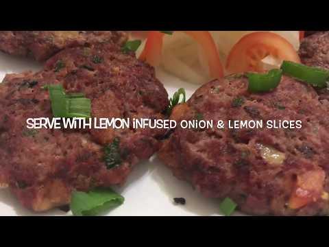 Kache Keema Ke Kebab / kebab recipe / burger recipe
