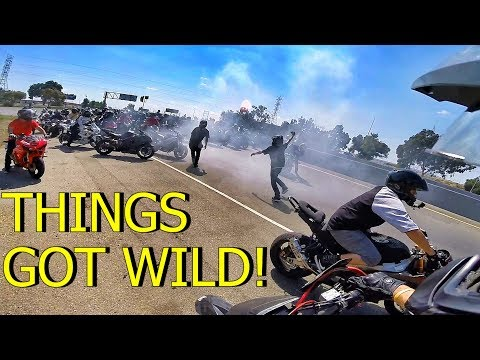 WE TOOK OVER THE HIGHWAY! EPIC RIDEOUT!