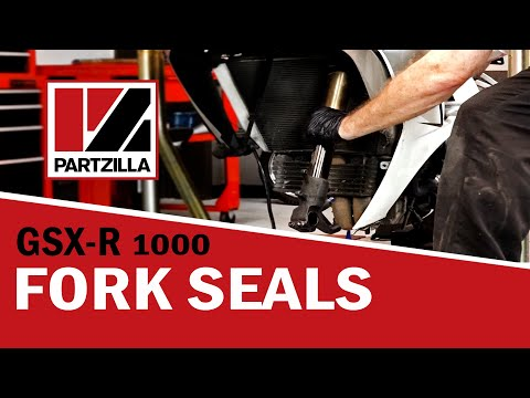 Fork Seal Replacement on a GSXR 1000 | Partzilla.com