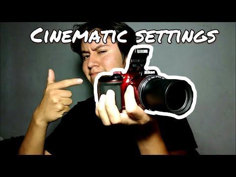 Nikon Coolpix B500 Cinematic/Film settings