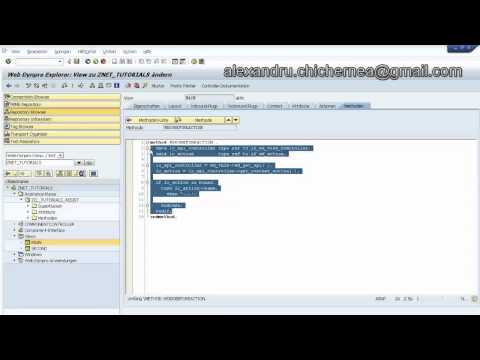 Build a Simple Web Dynpro ABAP Application, Assistance Class, Message Manager(PART 3)