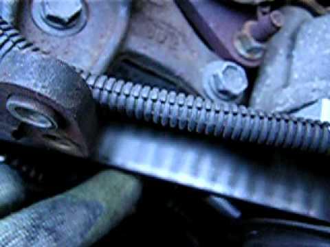 toyota 5s-fe loose timing belt bad tensioner