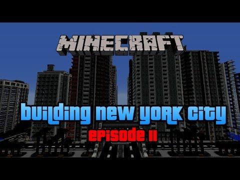 Minecraft New York City : Building NYC | Speed Build | Ep.11