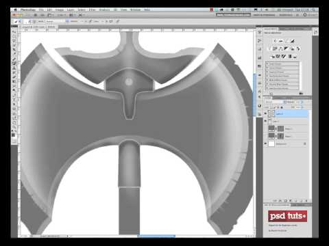 Create a Medievel Battle Axe in Photoshop