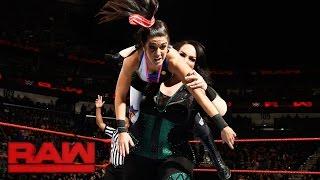 Bayley & Sasha Banks vs. Charlotte Flair & Nia Jax: Raw, Jan. 9, 2017