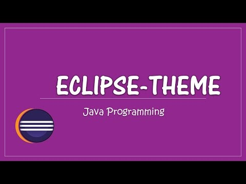 Eclipse Mars- How to change the theme and font size