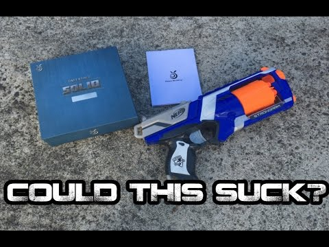 COULD THIS SUCK? - 2016 Orange Mod Works Nerf Strongarm Unleashed Kit