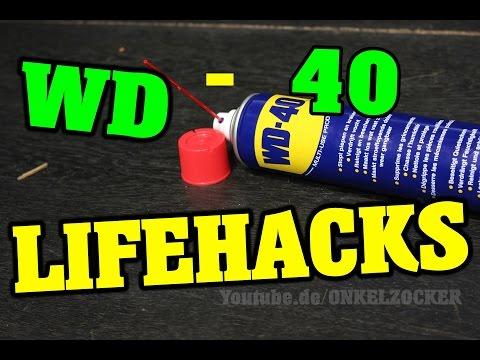 LIFE HACKS - WD 40 LIFEHACKS DEUTSCH - AUTO KRATZER ENTFERNEN MIT WD 40 #2