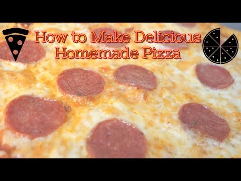 Homemade Pizza Recipe — SAVE $$$ VERSUS DELIVERY!