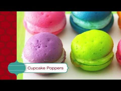 Cupcake Poppers - Betty Crocker's Red Hot Holiday Trends