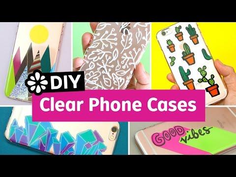 5 Cool DIY Clear Phone Cases | Sea Lemon