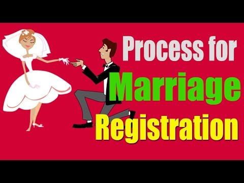 Marriage registration process in India (after husband death)